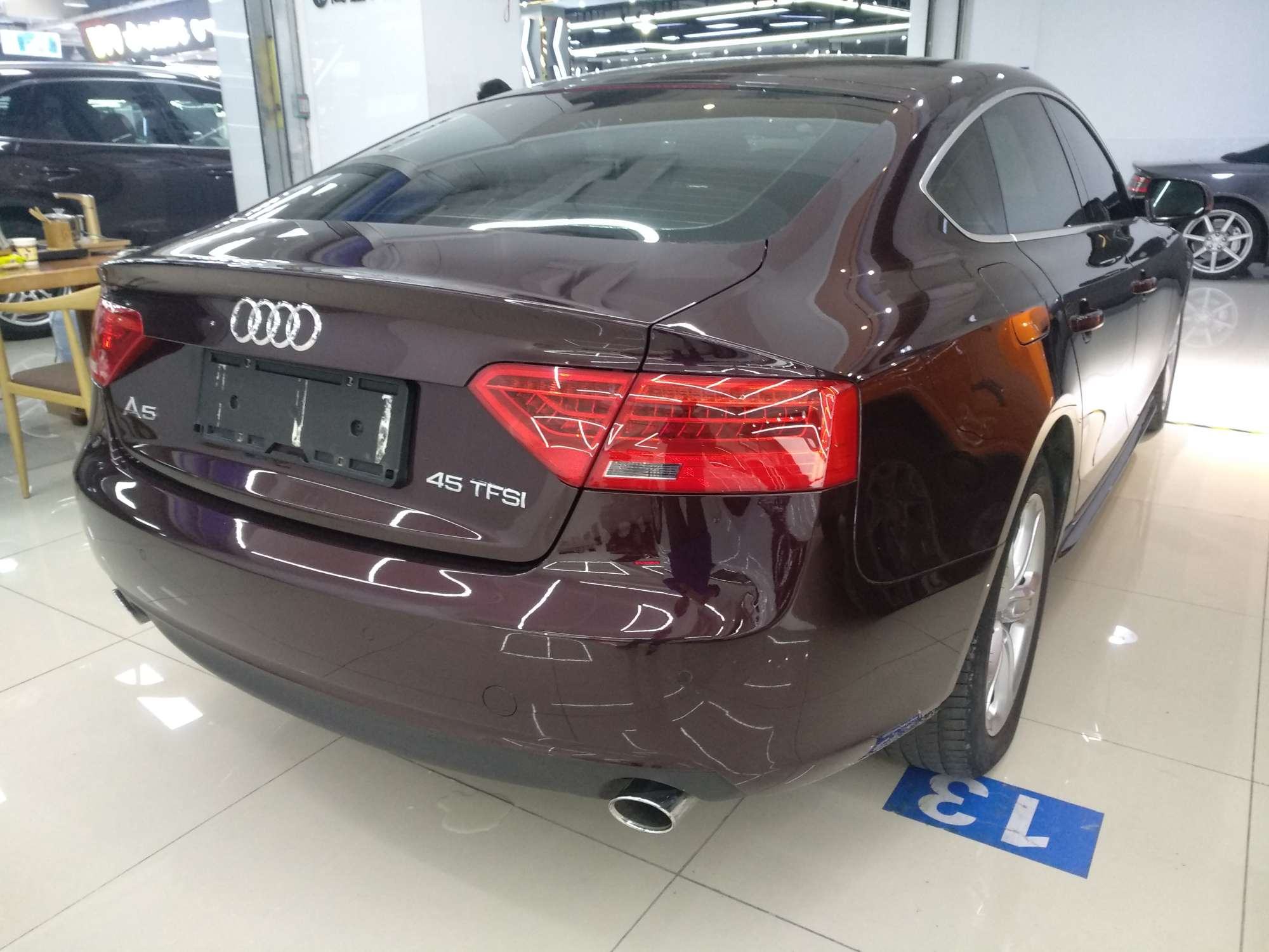 精真估提供二手车奥迪 A5 2014款 2.0T CVT Sportback 45TFSI