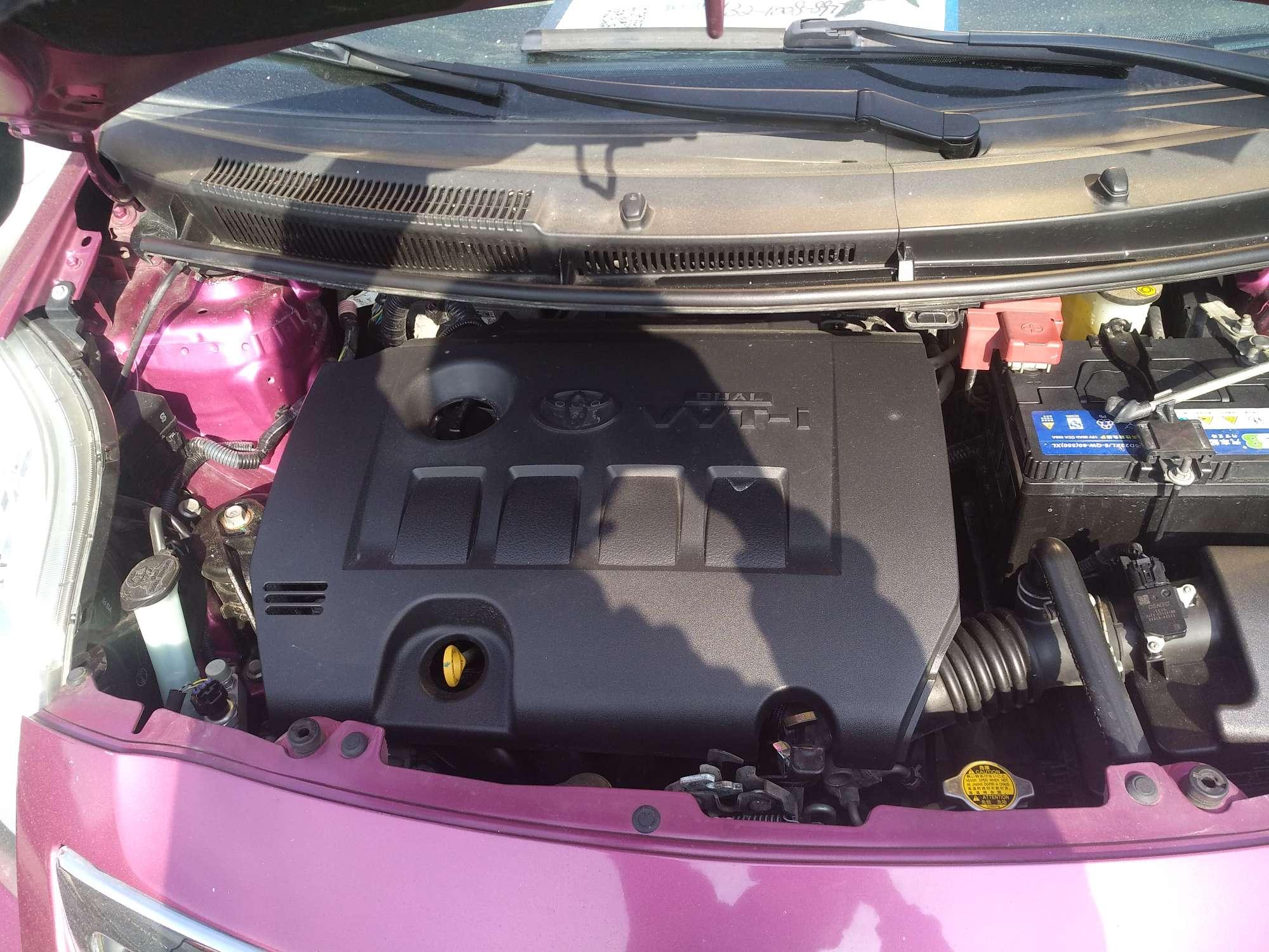 精真估提供二手车丰田 雅力士 2011款 1.6L 自动 E 魅动版