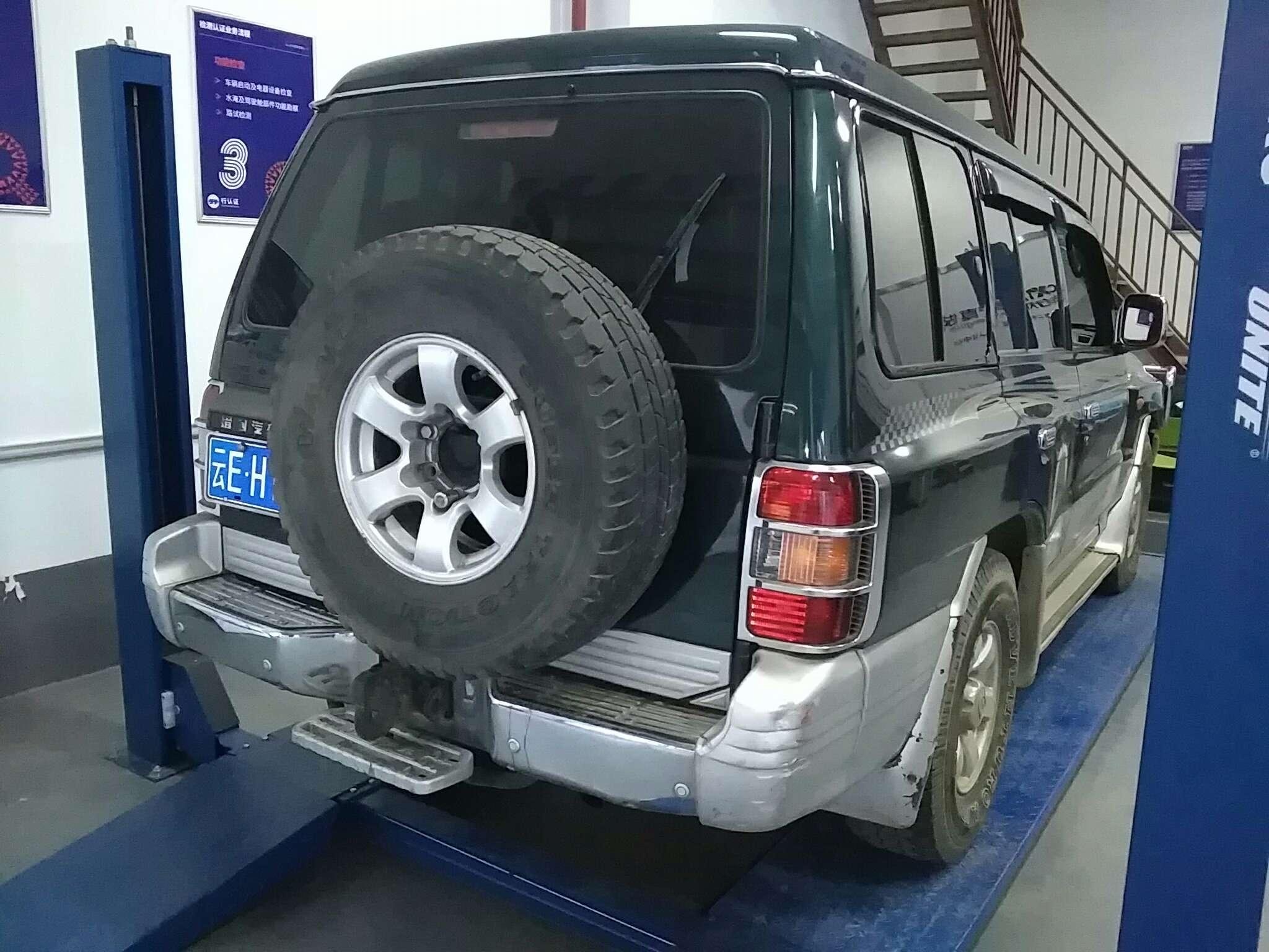 精真估提供二手车猎豹 黑金刚 2014款 2.5T 手动 柴油两驱CFA6470LAH