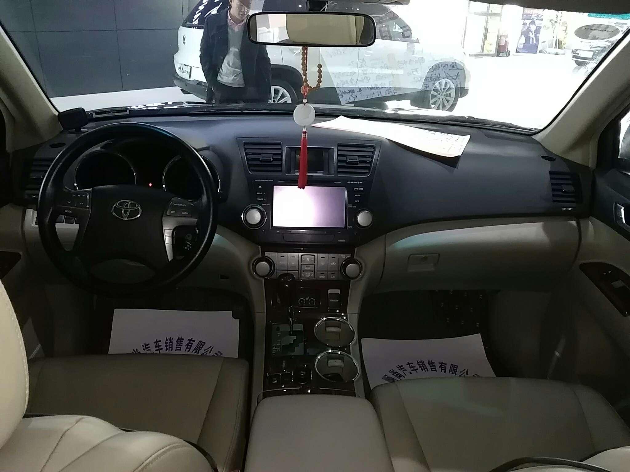 精真估提供二手车丰田 汉兰达 2009款 3.5L 自动 四驱 7座豪华版