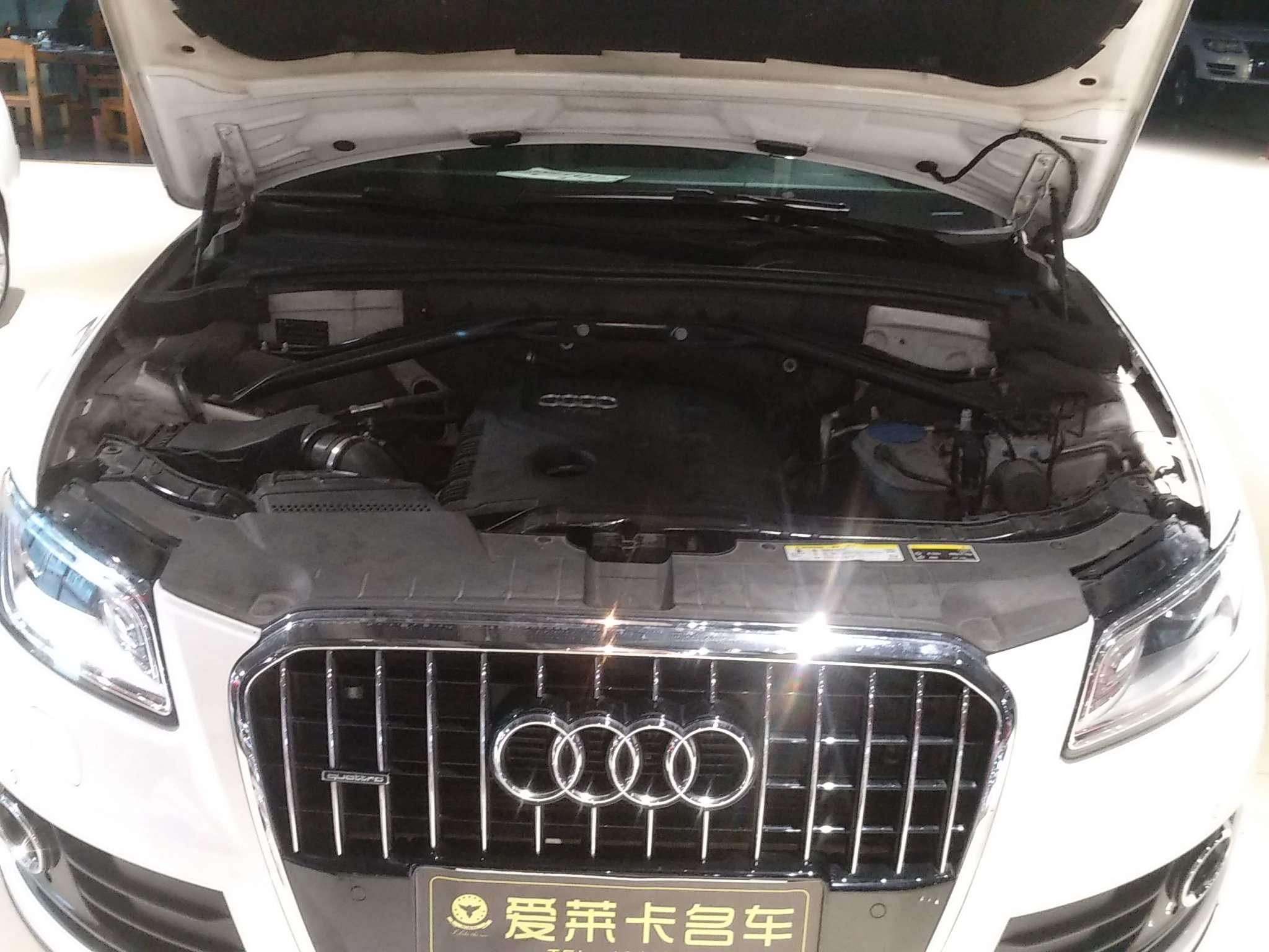 精真估提供二手车奥迪Q5 2013款 2.0T 自动 40TFSI 舒适型