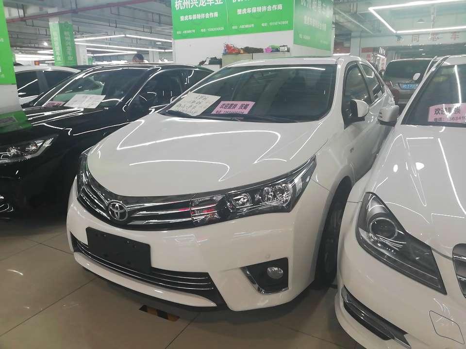 精真估提供二手车丰田 卡罗拉 2014款 1.6L CVT GL-i真皮版