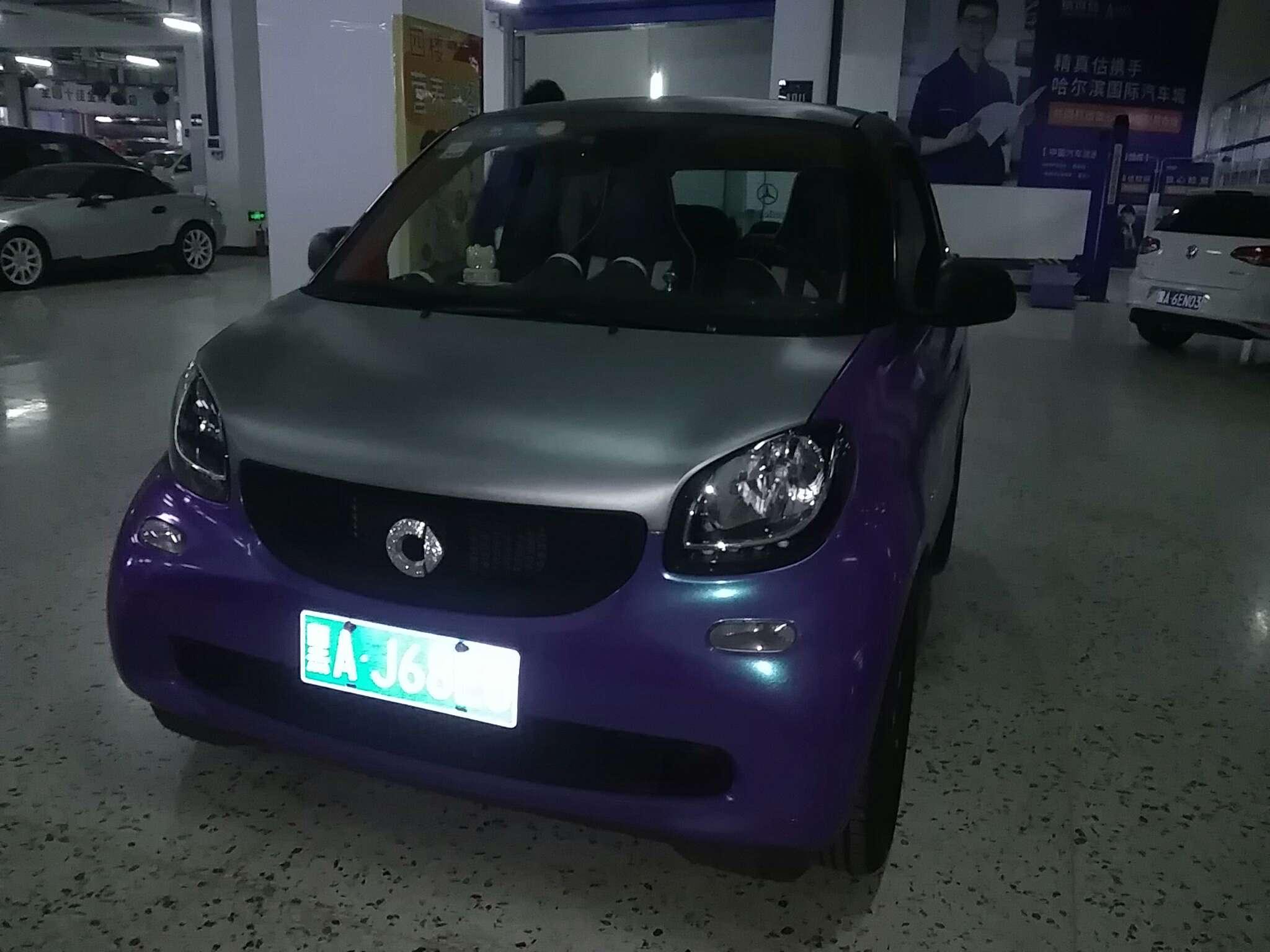 精真估提供二手车smart fortwo 2015款 1.0L 双离合 灵动版