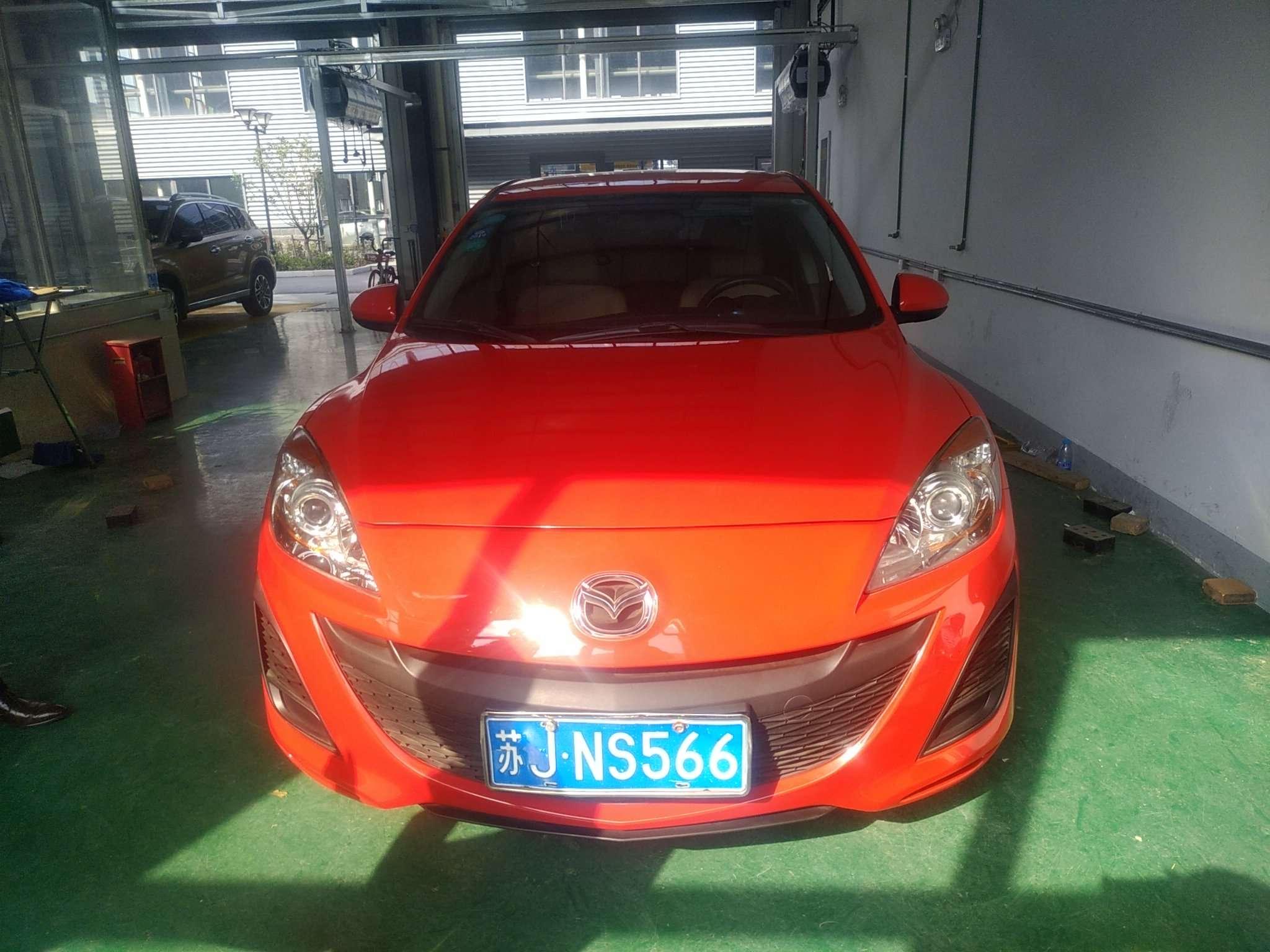 精真估提供二手车马自达 Mazda3星骋三厢 2011款 1.6L 自动 三厢舒适版