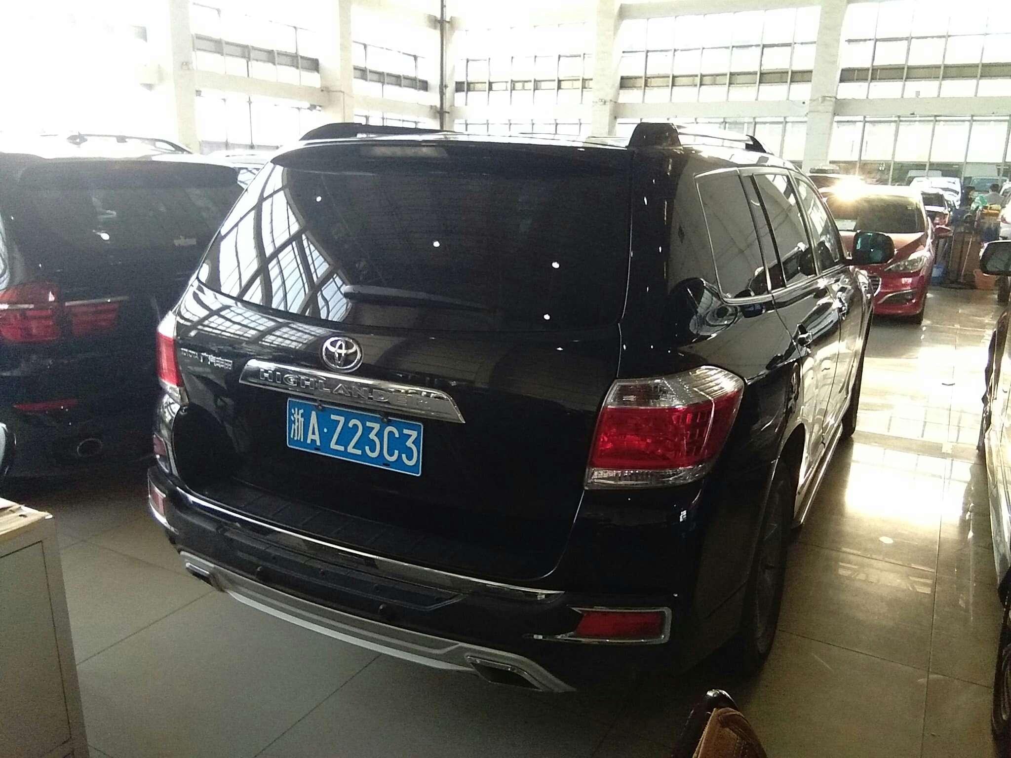 精真估提供二手车丰田 汉兰达 2012款 2.7L 自动 两驱 5座精英版
