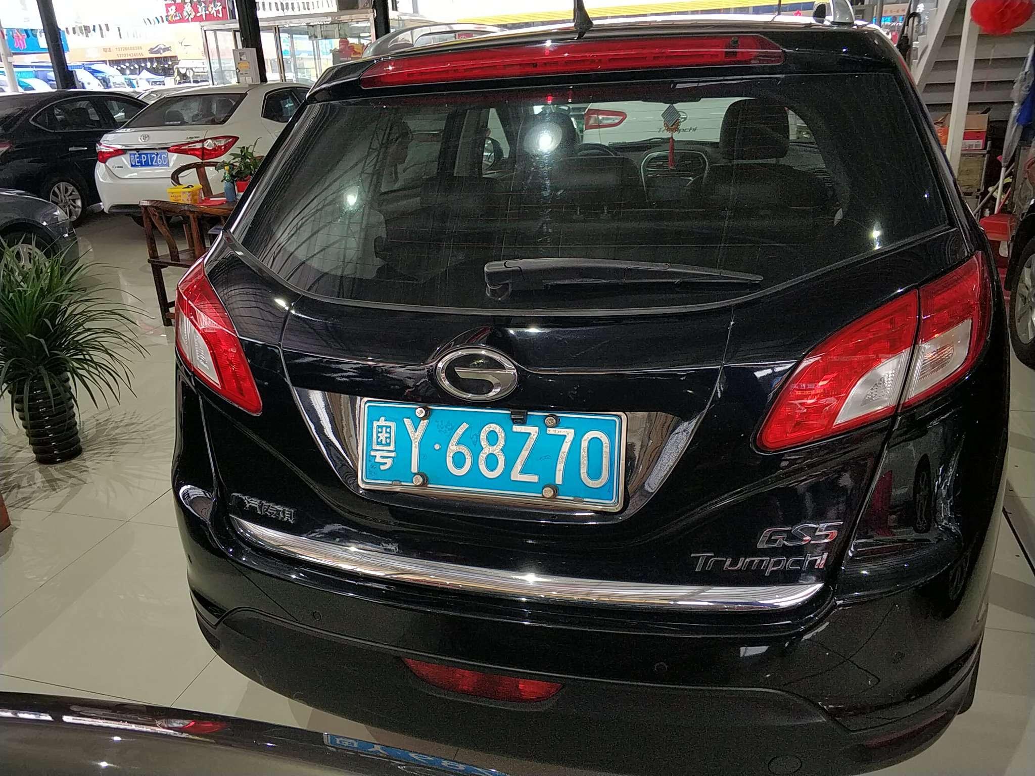精真估提供二手车广汽传祺 GS5 2012款 2.0L 自动 两驱周年纪念版