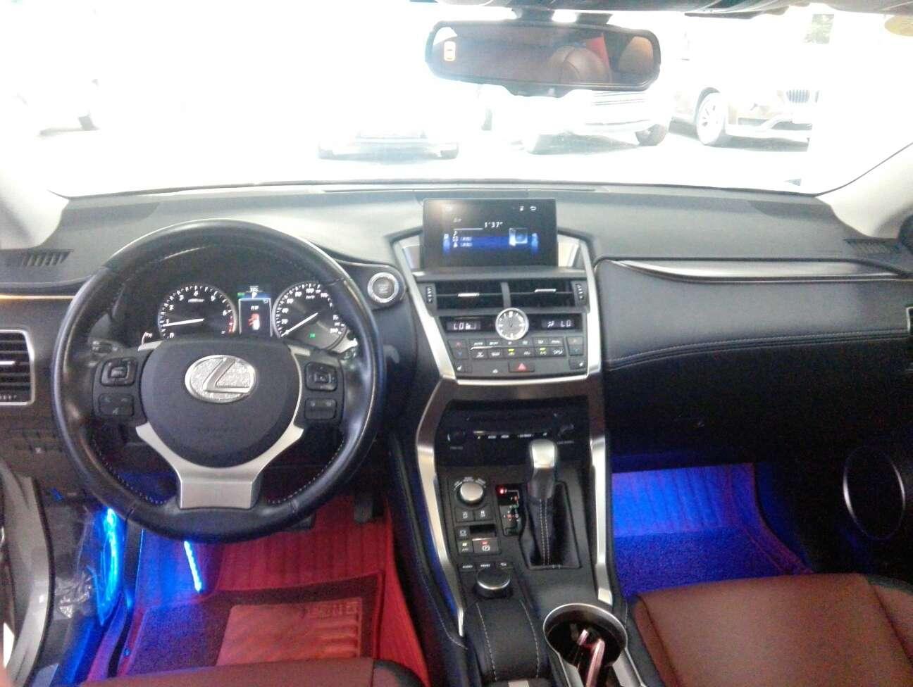 精真估提供二手车雷克萨斯 NX 2017款 2.0L CVT 200锋尚版