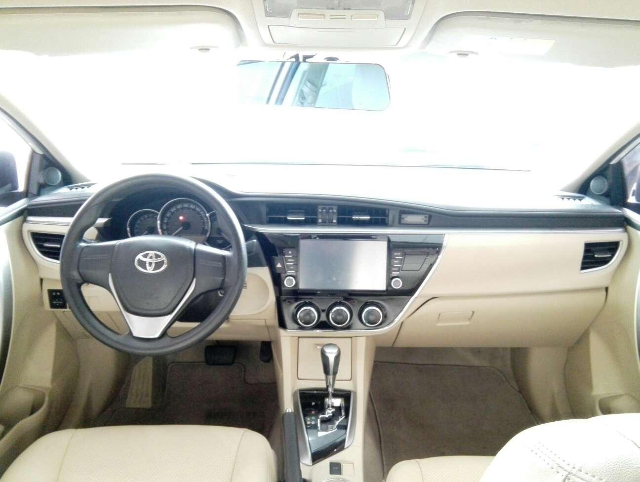 精真估提供二手车丰田 卡罗拉 2014款 1.6L CVT GL